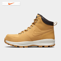 Nike Plain Toe Street Style Engineer Boots