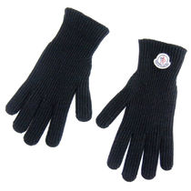 MONCLER Wool Logo Gloves Gloves