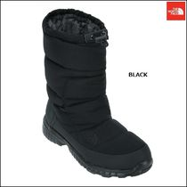 THE NORTH FACE Round Toe Rubber Sole Casual Style Unisex Faux Fur