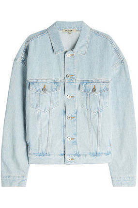 Short Casual Style Denim Jackets