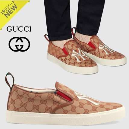 9f9102e0281ad GUCCI 2019 Cruise Monogram Collaboration Loafers   Slip-ons by ...