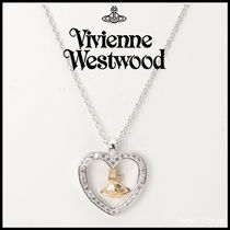 Vivienne Westwood Costume Jewelry Unisex Silver With Jewels Elegant Style