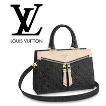 Louis Vuitton Monogram Leather Party Style Shoulder Bags