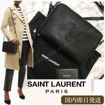 Saint Laurent LOU Monogram Lambskin Tassel 2WAY Shoulder Bags