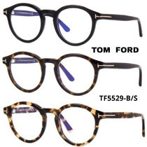 TOM FORD Unisex Round Optical Eyewear