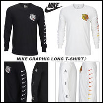 Nike Street Style Long Sleeves Other Animal Patterns Cotton