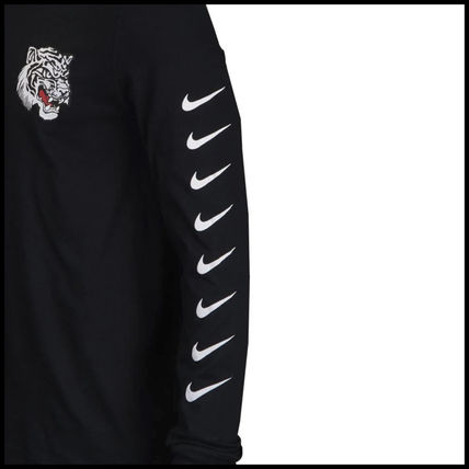 Nike Long Sleeve Street Style Long Sleeves Other Animal Patterns Cotton 3