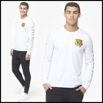 Nike Long Sleeve Street Style Long Sleeves Other Animal Patterns Cotton 5