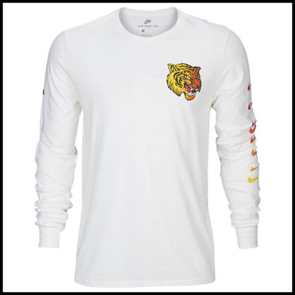 Nike Long Sleeve Street Style Long Sleeves Other Animal Patterns Cotton 6
