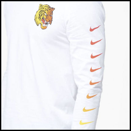 Nike Long Sleeve Street Style Long Sleeves Other Animal Patterns Cotton 7