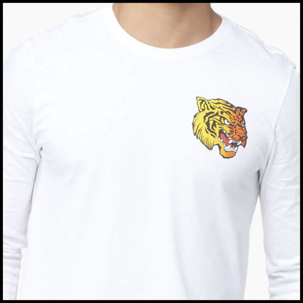 Nike Long Sleeve Street Style Long Sleeves Other Animal Patterns Cotton 8