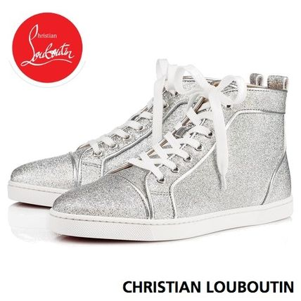 the best attitude 31a63 098fc Christian Louboutin BIP BIP 2018-19AW Round Toe Casual Style Plain Low-Top  Sneakers (3180150SV20)