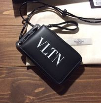 VALENTINO Calfskin Folding Wallets
