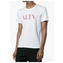 VALENTINO Street Style Cotton Short Sleeves T-Shirts