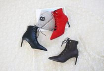 Casual Style Suede Street Style Plain Ankle & Booties Boots