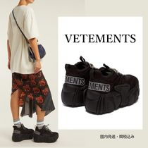 VETEMENTS Platform Casual Style Suede Street Style Collaboration