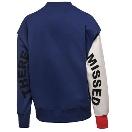 ADERERROR Sweatshirts Unisex Street Style Long Sleeves Cotton Sweatshirts 19