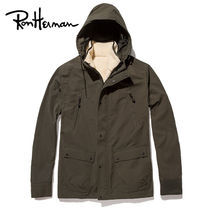 Ron Herman Plain Long Handmade Khaki Parkas