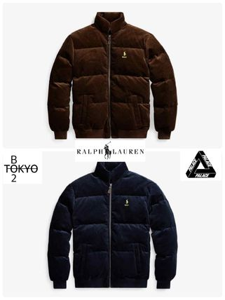Unisex Street Style Collaboration Down Jackets