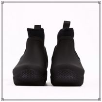 CELINE Round Toe Rubber Sole Casual Style Plain