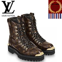 Louis Vuitton MONOGRAM Monogram Mountain Boots Outdoor Boots