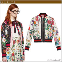 GUCCI Short Flower Patterns Other Animal Patterns Souvenir Jackets