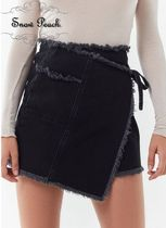 Urban Outfitters Short Plain Cotton Skirts