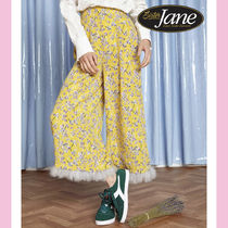 Sister Jane Flower Patterns Casual Style Medium Culottes & Gaucho Pants
