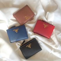 PRADA SAFFIANO LUX Plain Leather Accessories