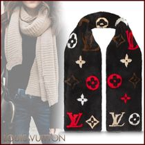 Louis Vuitton Minkgram Scarf