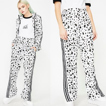 Casual Style Unisex Collaboration Other Animal Patterns Long