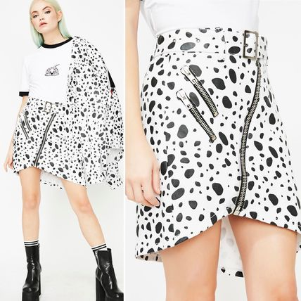 Short Collaboration Other Animal Patterns Skirts