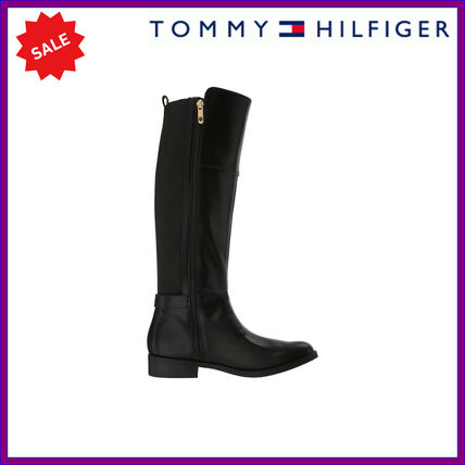 c7683cd4f5fdfd Tommy Hilfiger Round Toe Casual Style Plain Flat Boots by kahi04 - BUYMA