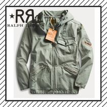 RRL Other Check Patterns Street Style Plain Long Parkas