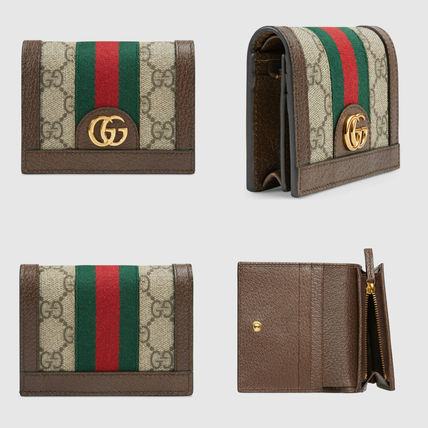 Monogram Canvas Folding Wallets