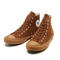CONVERSE ALL STAR Unisex Suede Street Style Sneakers