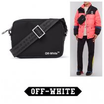 Off-White Unisex Street Style Bags