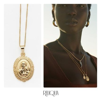 Casual Style Unisex Coin Street Style Chain 18K Gold