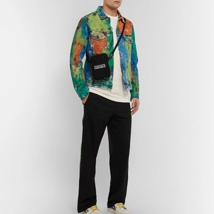 Off-White Long Sleeve Crew Neck Street Style Long Sleeves Cotton 7