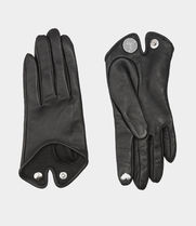 Vivienne Westwood Leather Leather & Faux Leather Gloves
