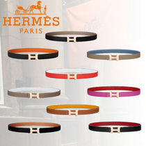 HERMES Casual Style Plain Belts