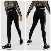 PUMA Casual Style Street Style Other Animal Patterns Cotton Long