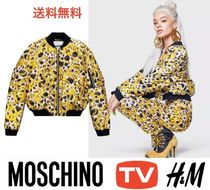 Moschino Street Style Collaboration Chain Jackets