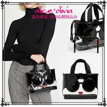 Alice+Olivia 2WAY Crystal Clear Bags Totes