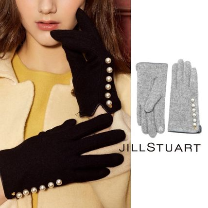 Heart Wool Smartphone Use Gloves
