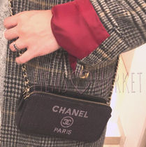 CHANEL Casual Style Canvas 2WAY Chain Shoulder Bags