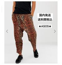 ASOS Leopard Patterns Street Style Sarouel Pants