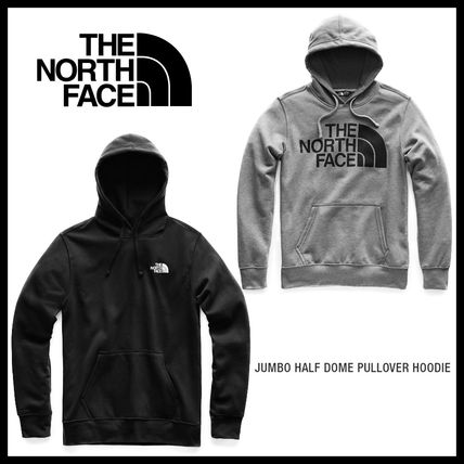 THE NORTH FACE Hoodies Pullovers Street Style Long Sleeves Cotton Hoodies