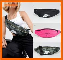 Nike Camouflage Casual Style Unisex Street Style Shoulder Bags