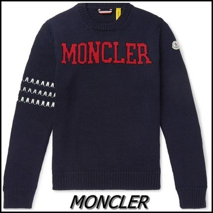 MONCLER Knits & Sweaters Stripes Wool Knits & Sweaters